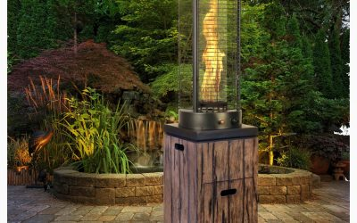 BE MESMERISED BY OUR LUXURIOUS REAL FLAME PATIO HEATERS THIS WINTER